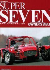 [BOOK] Caterham SUPER SEVEN owner's bible Lotus Cosworth K R500R VAUXHALL Japan