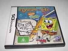 Spongebob Squarepants Drawn to Life Nintendo DS 3DS 2DS Game *Booklet*