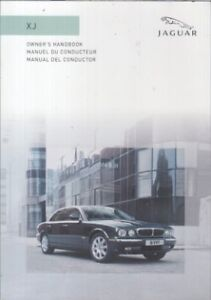 JAGUAR XJ8 4.2 V8 (INCL VDP & XJR) ORIG. 2005 INSTRUCTION HANDBOOK (FRENCH TEXT)