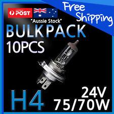 H4 Halogen Light Bulb Headlight Globes 24V 70/75W TRUCK Yellow Warm White 10PCS