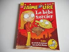 J'AIME LIRE 7/10 ANS - LE BEBE SORCIER N°333. OCTOBRE 2004
