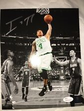Isaiah Thomas Boston Celtics Autographed Signed 8x10 Photo with Coa JSA,