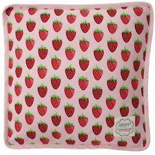 Krasilnikoff Kissenbezug Box Cushion Strawberry Pink