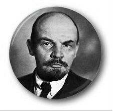 "LENIN - 25mm 1"" Button Badge - Novelty Cute Communist Marx Soviet"