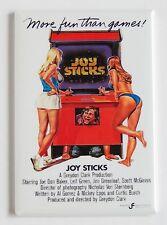Joy Sticks FRIDGE MAGNET (2.5 x 3.5 inches) movie poster arcade game