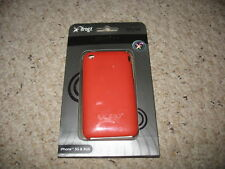 IFROGZ IPHONE 3G & 3GS CASE, RUST COLORED IN BOX FUSION