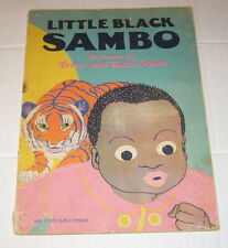 Little Black Sambo,Terry & Mary Smith,G,SB,circa 1930,Whitman Publishing Co.