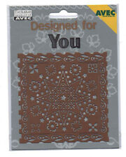 AVEC//Designed//for//you//Metal//Stencil//Emboss//STAR//FLORAL//MULTI//4.888.006