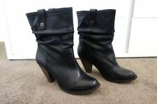 Windsor Smith Block Heel Pull On Boots for Women