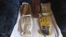 5 Different Style-Lined-Leather Winter-Dress / Work Gloves-Brand New-Great Price