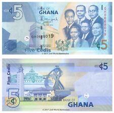 Ghana 5 Cedis 2014 P-38e Banknotes UNC