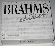 Brahms: limitierte Auflage, Edition-Box mit 4 CD's