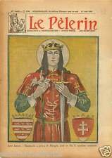Anniversary Saint / Prince Emeric of Hungary Szent Imre herceg 1930 ILLUSTRATION