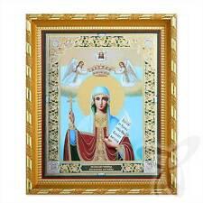 Ikone Paraskeva Heilige Märtyrin Holz 21x18 Параскева Святая мученица  икона