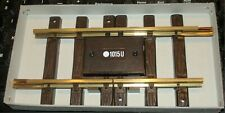 LGB - INSULATED STRAIGHT TRACK SECTION  #10153 - G TRAIN