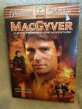 MacGyver - The Complete First Season (Dvd, 2005, 6-Disc Set) 1st Richard Dean A.