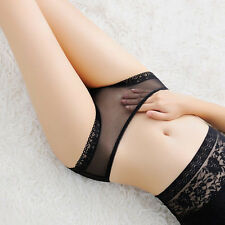Mujer Bragas Lencería Tangas Braguitas Transparente ropa interior G-secuencia