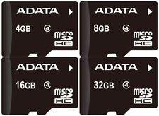 ADATA MICRO SD CARD 4GB 8GB 16GB 32GB 64GB With Adapter Class 4