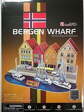 CubicFun 3D puzzle C183h BergenWharf  44pcs