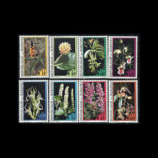 Burundi, Sc #723-30, MNH, 1995, Flowers, Flora, CL108F