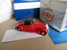 956I Dinky Matchbox DY S17 Triumph Dolomite 1939 Roadster 1:43 + Boite