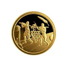 ISRAEL COIN & MEDAL 2019 BIBLE STORY THE TWELVE SPIES SMALLEST GOLD