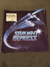 Collector Starlight Express The Musical Theatre Program 31 Aug1984 & Ticket Stub