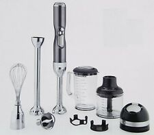 KitchenAid Pro Line 5 Speed Hand Blender, Sugar Pearl Silver Khb3581sr