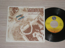 "MADONNA - MATERIAL GIRL / PRETENDER - 45 GIRI 7"" PROMO SPAIN"