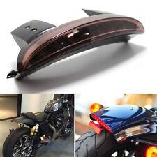 BRAKE TAIL LIGHT SMOKE RED LIGHT LICENSE PLATE MOTORCYCLE FOR BOBBER CAFE RACER