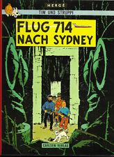 Tim und Struppi Flug 714 nach Sydney - CARLSEN COMIC-ALBUM 1974 Hergé