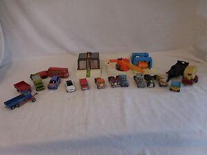Matchbox Car Wash Playset Vintage 1985 Toy + 1972 Bus + Yatming 1969 Tootsie Toy