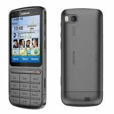 Nokia C Series C3-01 Symbian 30MB 5MP 3G Unlocked Mobile Phone Gray