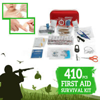 410x First Aid Outdoors Sports Camping Travel Energency SOS Tool Kit Medical Bag