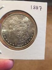 1887 $1 Morgan Silver Dollar