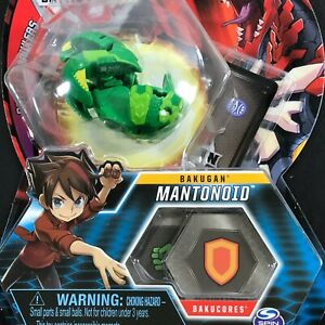 Bakugan Battle Planet Brawlers Spin Master Mantonoid 2 Inch Tall Collectable NEW