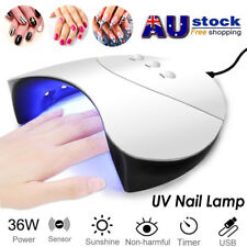 Professional 36W LED UV Nail Lamp Light Gel Polish Dryer Manicure Art Curing AU