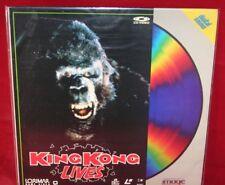 Laserdisc {n} * King Kong Lives * Brian Kerwin Linda Hamilton Peter Elliott