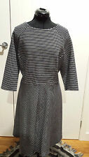 Marks & Spencer 3/4 sleeved black? and white dress size 20UK Brand new with tags