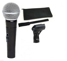 New BM58 Dynamic Vocal Mic| sm58 type DS Bm58 + MIC Pouch Free Shipping