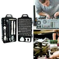 115 in 1Magnetic Precision Screwdriver Set Computer Phone Tool Kit UHR Repa U4B0