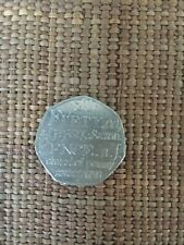 50p Pence Coin 2005 Johnsons dictionary 1755 British Coin Hunt