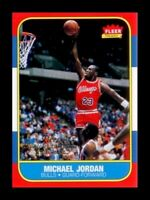 "MICHAEL JORDAN FLEER #4 DECADE OF EXCELLENCE"" 1986-96 ROOKIE CARD!"