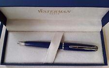 Waterman CHARLESTON Kugelschreiber blau, Rarität für Sammler !