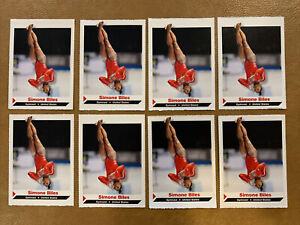 (8) Simone Biles 2014 SI For Kids Rookie 1st RC Lot