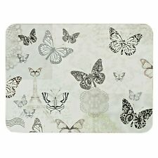 Set of 6 Place mats Butterfly Design Dining Table Mats Drinks