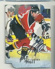 Jody Hull Florida Panthers U.D. Be A Player Certified Autograph Hockey Card