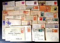 Repubblica Storia Postale  -Targhette Meccanich Pubblicitarie -- Lotto da 50 -3