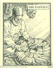 Pastals Order leaves Leaf Turkey TOBACCO HISTORY HISTOIRE TABAC IMAGE CARD 30s