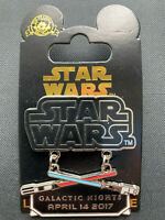 Disney Parks Pin Trading Star Wars Limited Edition Galactic Nights April 2017